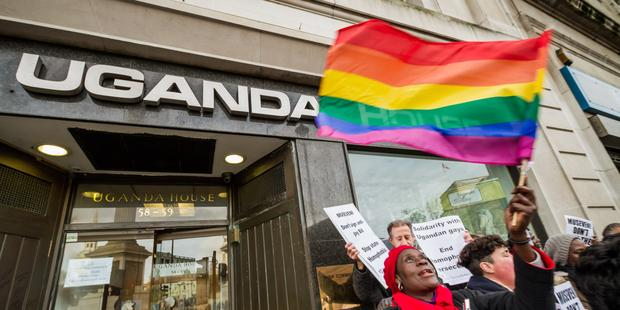 Uganda's Constitutional Court today overturned the country's Anti-Homosexuality Act. © Guy Corbishley / Demotix.