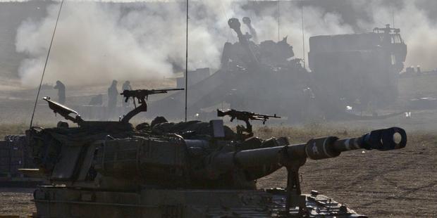 米国はイスラエルに武器を輸出することで、ガザ地区でのさらなる人権侵害に手を貸しているも同然である。(C) EPA
