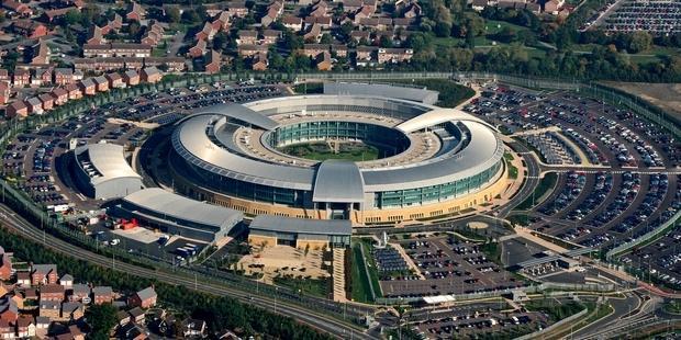 アムネスティの情報を傍受していた疑いがある英国諜報機関GCHQ(政府通信本部) (C) David Goddard/Getty Images