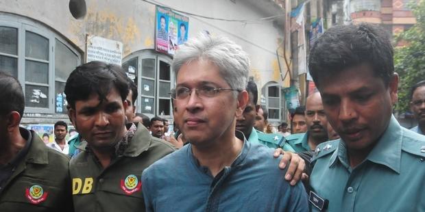 アムネスティが良心の囚人と認定したアディルー・ラーマン・カーンさん(c) Ibrahim Ibrahim/Demotix