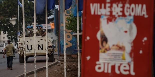 国連は、北キヴの市民を保護しなくてはならない。(C) PHIL MOORE/AFP/GettyImages