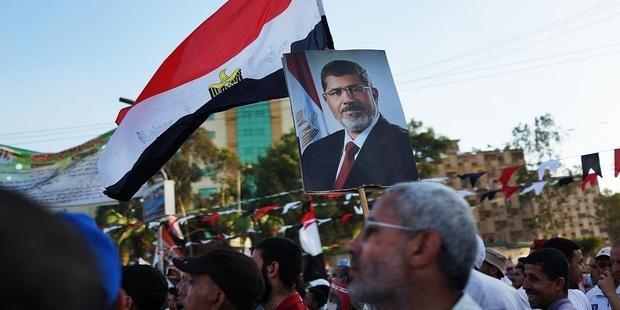ムルシ大統領が排除されて以来、支持者数百名が逮捕された(C) Spencer Platt/Getty Images