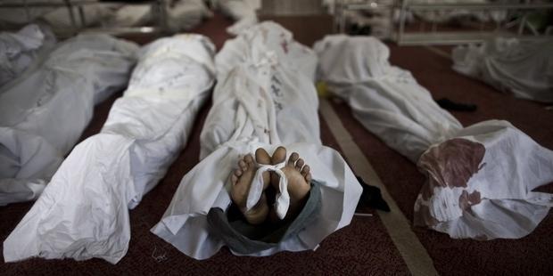 治安部隊による激しい暴力は、死者600人以上という惨事を引き起こした。 © MAHMOUD KHALED/AFP/Getty Images