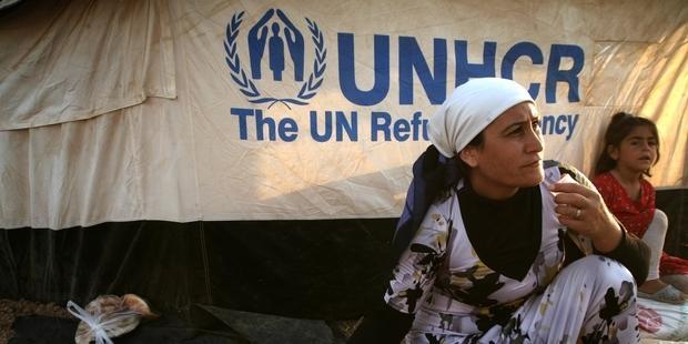1月14日にクウェートで開かれた国連主催のシリア人道支援会議では、過去最大の65億ドルの拠出が必要とされた。(C)SAFIN HAMED/AFP/Getty Images