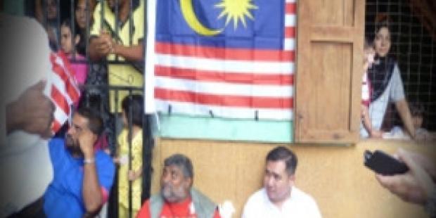 歴史ある村の解体に反対するデモ参加者19名が逮捕された。(C) FreeMalaysiaToday