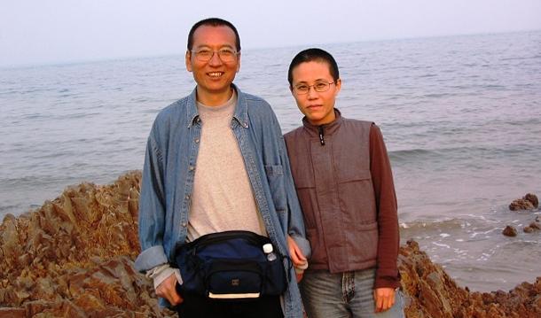 Liu Xiaobo and his wife Liu Xia © Private