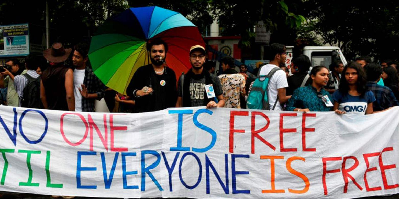 © Pride walk in Kolkata, India in 2019 (NurPhoto)
