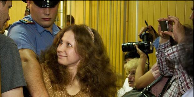 裁判所はマリア・アリョーヒナの刑執行の延期を認めない決定を下した(C)Denis Bochkarev
