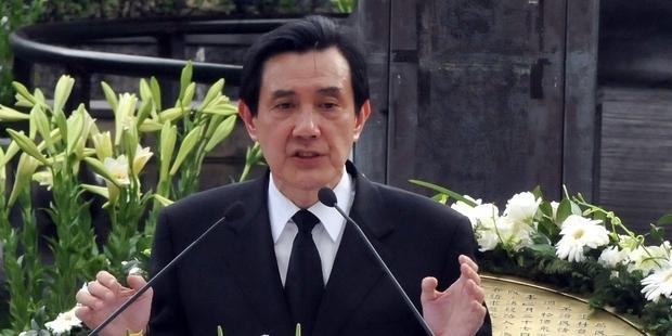 馬英九大統領は、死刑執行を即時停止すべきだ。 (C) Mandy Cheng/AFP/Getty Images