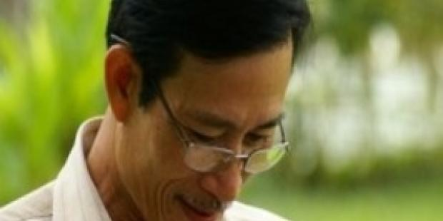"Nguyen Van Hai (""Dieu Cay"") and two other Vietnamese bloggers face up to 20 years in jail.© Private"